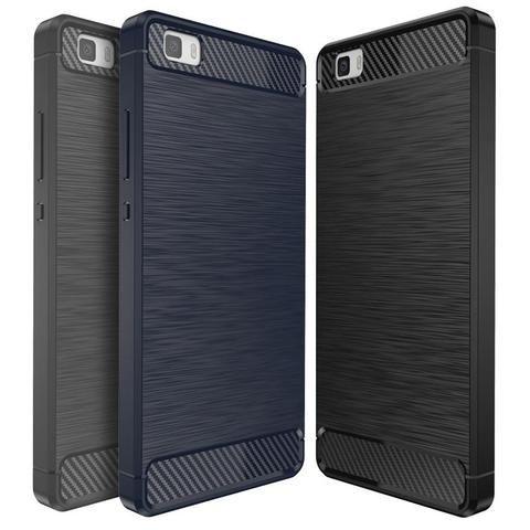 Huawei P8 Lite 2015 Silicone Case Phone Cover Coque For Huawei P8 Lite 2015 Luxury Slim Soft Tpu Carbon Fiber Texture Anti Knock In 2019 Carbon Fiber Phone Cheap Phones