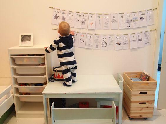 #alphabet #reading #kidsroom #ideas #DIY DIY-Challenge #40: Das Alphabet | Die Buchstabenwand | Lesen Lernen für Kindergartenkinder