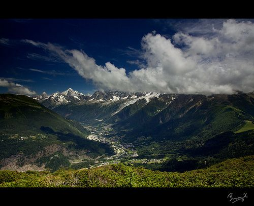 Vallée de Chamonix, Haute-Savoie, Rhône-Alpes, France