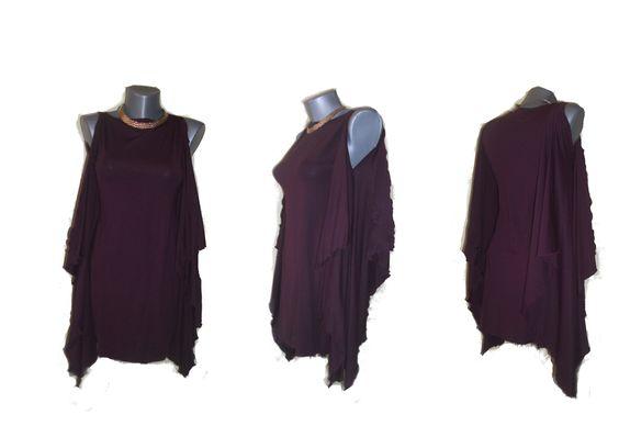 rochie deep purple unicat de danaboutique Breslo