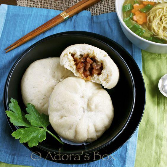 how to make banh bao dough