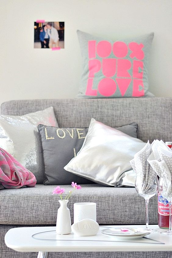 Gray Couches, Girly And Places On Pinterest