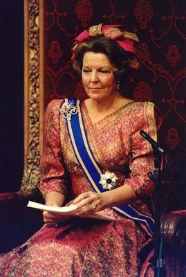 Troonrede 1988: Koningin Beatrix