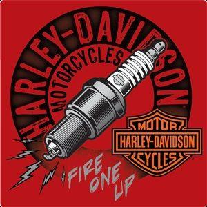 Harley Davidson Sparked Sign Ande Rooney Signs