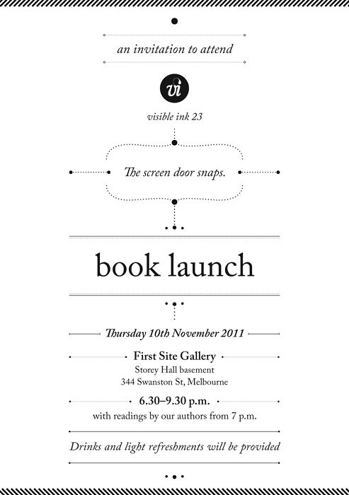 Book Launch Party Invites – Launching Invitation Card