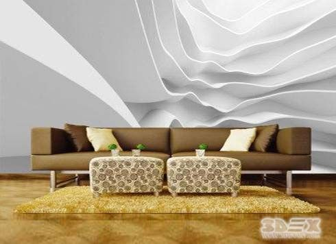 Black And White 3d Wallpaper Designs For Living Room Walls New Options And Ideas To 3d Wallpaper Living Room Living Room Wall Wallpaper Wallpaper House Design