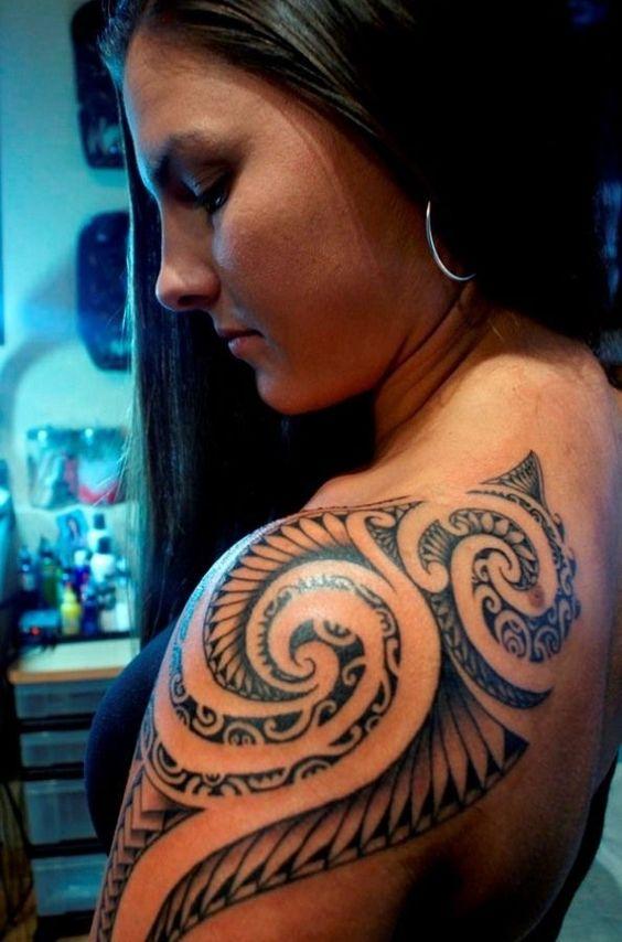 Super Mooie En Prachtige Maori Tatoo's Voor Vrouwen! Opzoek Naar 65.000 Tattoo Voorbeelden?Ã�Klik Dan Hieronder!