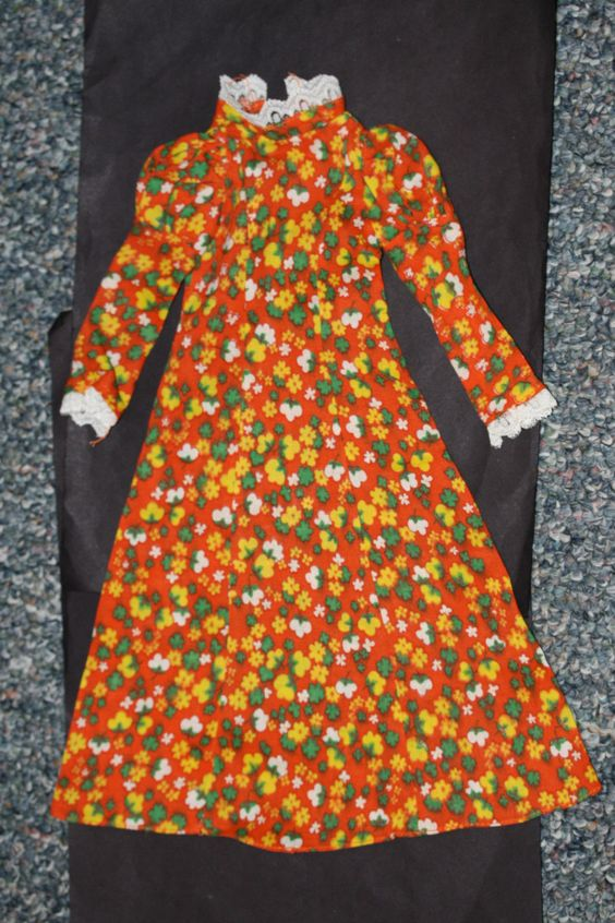 "Vintage 1972 Crissy ""Maxi Dress"" a JC Penney Exclusive by Ideal"