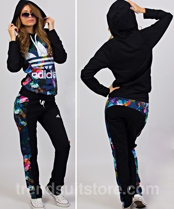 Article Cdf00020 Floral Hood Tracksuit Order Of This Product Only By Wholesale Catalog At Our