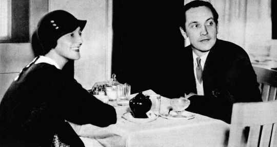 Fredric March with Elsie Janis, circa 1933