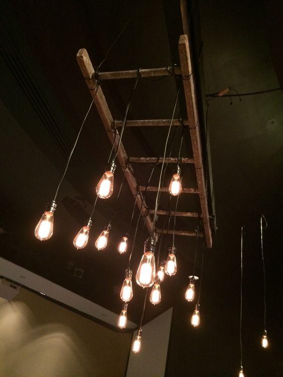Ladder Eccentric And Lighting On Pinterest