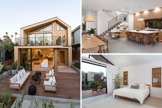 Une splendide villa aux États-Unis à l'influence scandinave #homesweethome