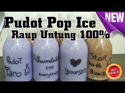 Resep Pudot Untuk Jualan Untung 100 Puding Sedot Rasa Taro Laris Manis Jualan Takjil Ini Youtube Minuman Resep Belajar