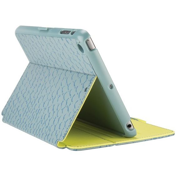 Speck Spk-A3405 Ipad Mini(Tm)/Ipad Mini(Tm) 2/Ipad Mini(Tm) 3 Stylefolio(Tm) Case (Rattleskin Gray/Antifreeze Yellow)