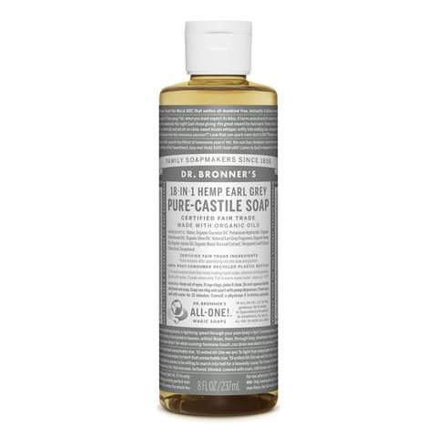 Dr Bronner S Pure Castile Liquid Soap Earl Grey Limited