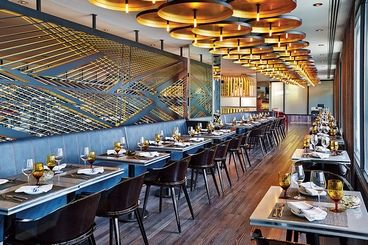 Review: Current replaced the Wave in the W Chicago Lakeshore's renovation. Photo provided by Current.