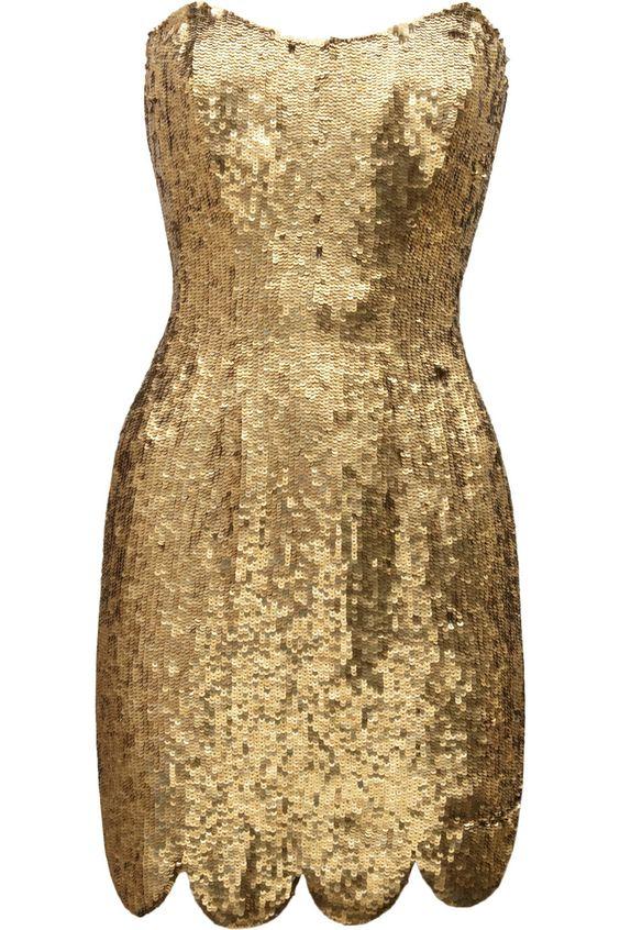 Rachel Gilbert sequined mini dress