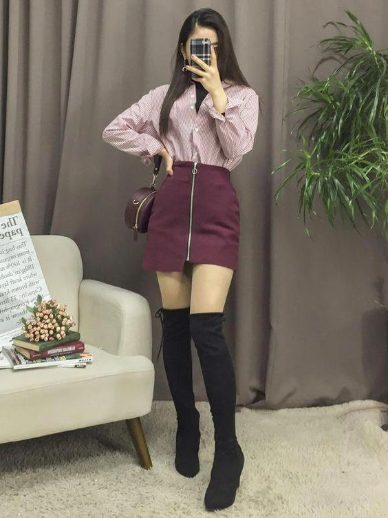 35 Korean Outfits To Copy Right Now outfit fashion casualoutfit fashiontrends
