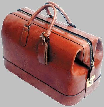 Leather Carry Luggage by Swaine Adeney