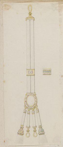 Fob design, c. 1780