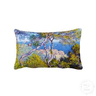 Bordighera, 1884 Claude Monet cool, old, master, Pillows