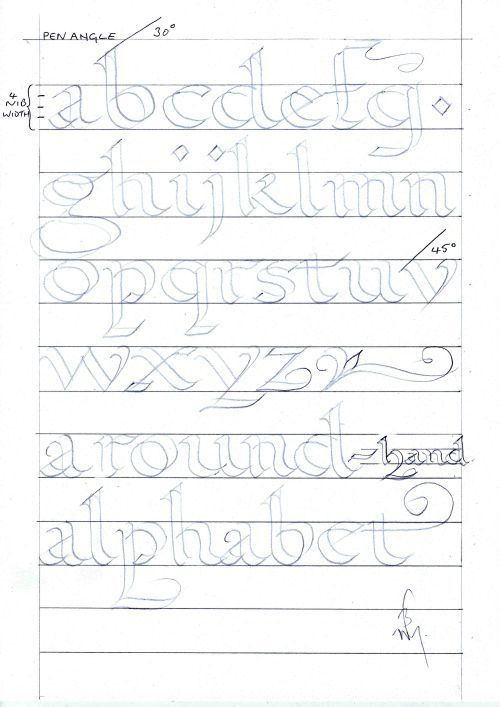 Calligraphy Lessons Lettering Pinterest Calligraphy