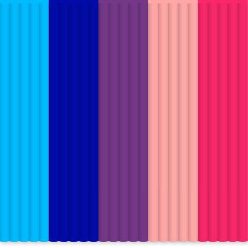 Free P/&P Worldwide! 3Doodler 3D Pen FLEXY Filament Colour Pack GorillaSpoke