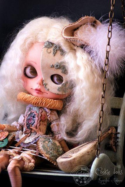 "Venettia by Rebeca Cano ""Cookie dolls"", via Flickr"