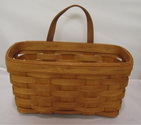 Classic 1993 Longaberger Medium Key Basket Longaberger