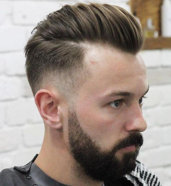 Receding Hairline Haircuts, men hairstyles