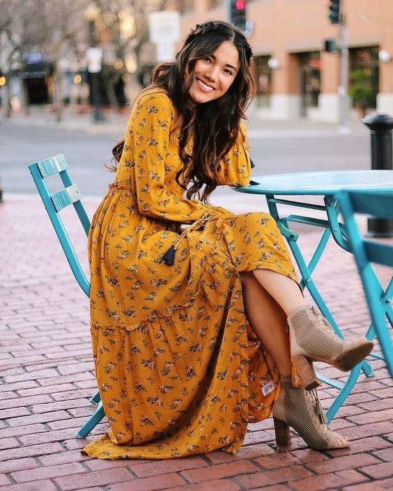 Bom Dia 💖 #lindadesaia e #lindadetodojeito #vestido #bota #saia #amosaia #inspiracao #todesaia