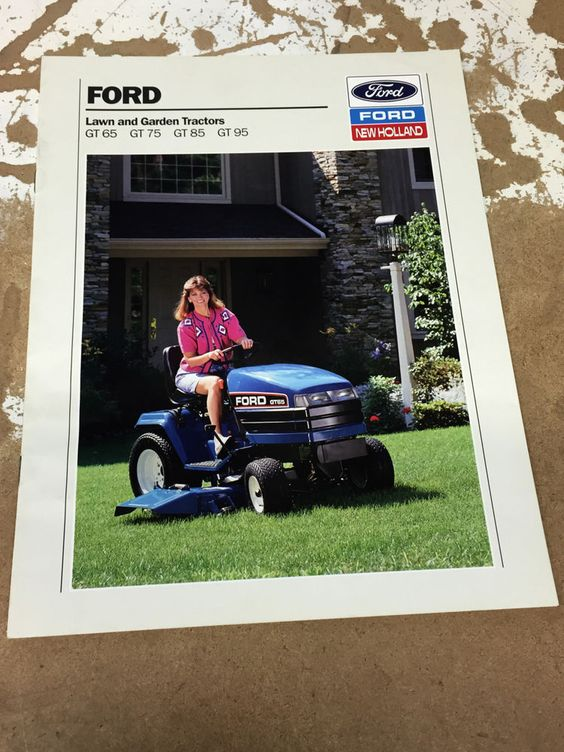 Ford Lawn And Garden Tractor Brochure Garden Tractor Lawn And