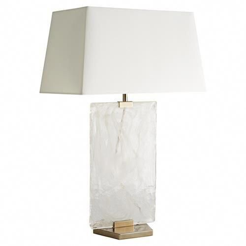 Arteriors Maddox Hollywood Regency White Cotton Rectangular Shade Gold White Opal Swirl Glass Table Lamp Uniquelamps Lamp Beautiful Lamp House Lamp