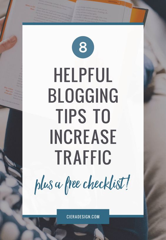 Try these blogging tips to grow your traffic and get more readers. A blogging tutorial (plus FREE checklist) to get noticed online for all blogging beginners.