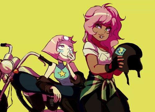 Pearl and Mystery Girl
