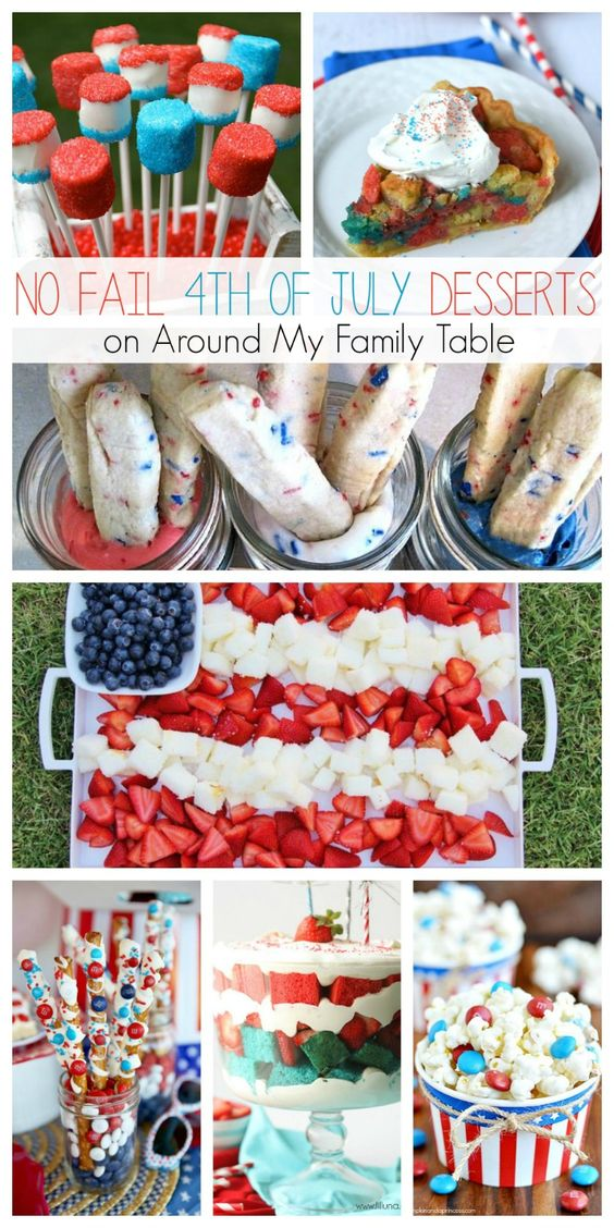 4th of July Desserts - Around My Family Table