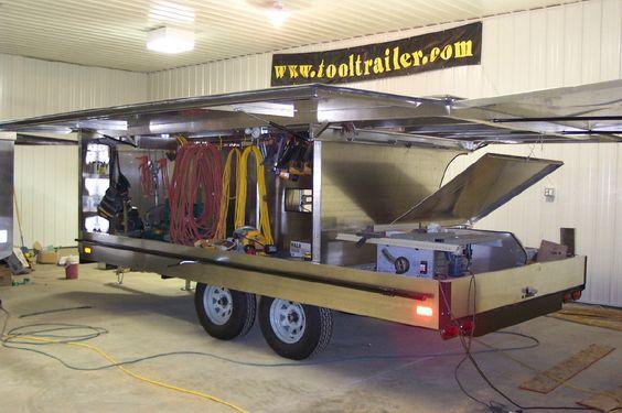 tool trailers black hills trailer mobile office. Black Bedroom Furniture Sets. Home Design Ideas