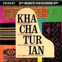 Khachaturian Concerto Piano And Orchestra 2lp 45rpm 200g Vinyl Katin Everest Classic Records Qrp Usa Vinyl Gourmet