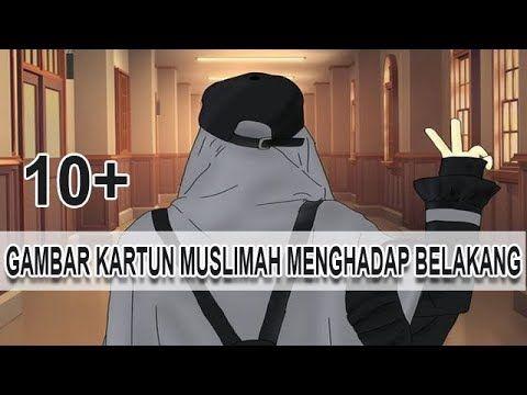 29 Gambar Kartun Wanita Muslimah Lucu Gambar Kartun Muslimah