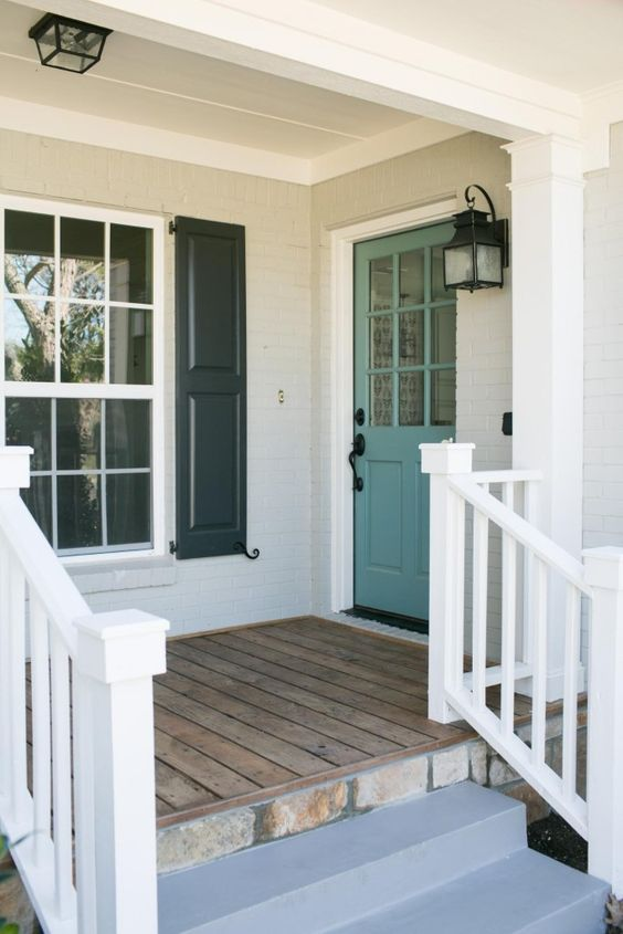 front door color? via Magnolia Homes/Fixer Upper:
