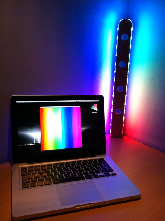 Arduino-Controlled RGB Lamp