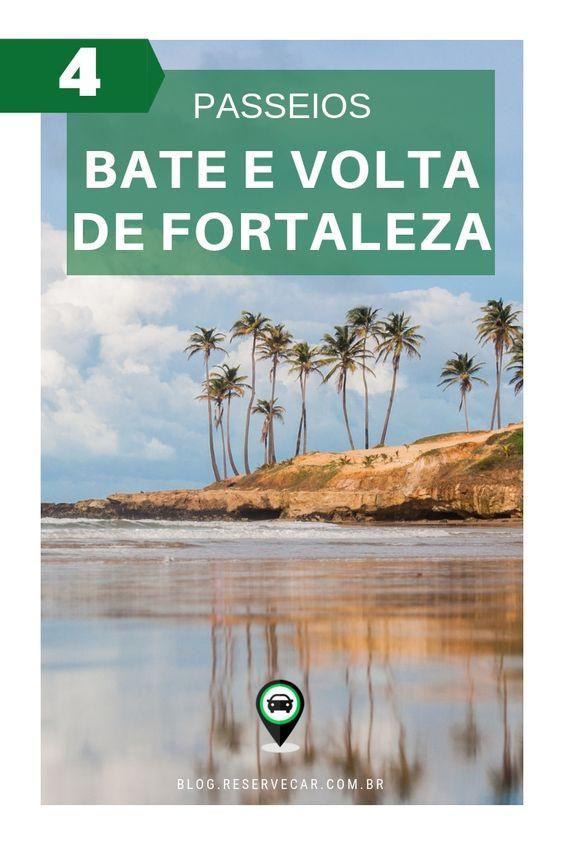 Passeios em Fortaleza - Veja 4 lugares imperdíveis para fazer bate e volta saindo de Fortaleza, no Ceará, Nordeste do Brasil