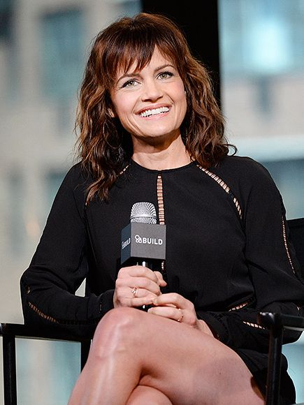 Star Tracks: Wednesday, August 24, 2016 - ROAD SHOW Actress Carla Gugino opens up about her Showtime comedy, Roadies, while stopping by N.Y.C.'s AOL Build event on Tuesday.