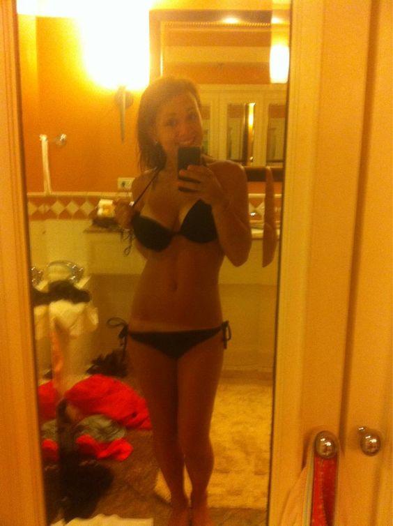 selfie great body sexy lady