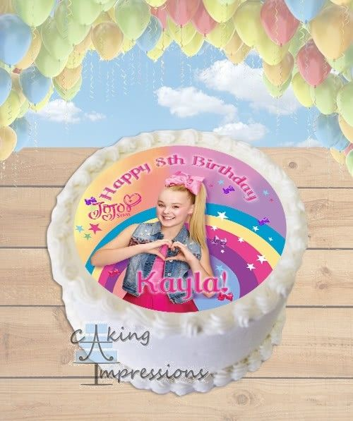 Image Result For Jojo Siwa Cake With Images Jojo Siwa Birthday