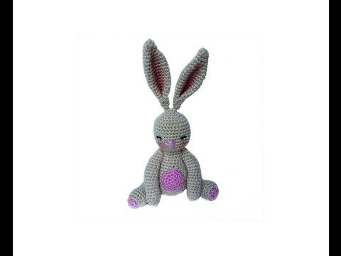 Amigurumi Rabbit For Beginners : VERY EASY crochet bunny tutorial - amigurumi rabbit for ...