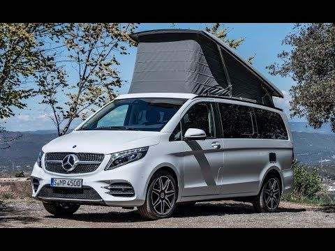 2020 Mercedes V Class Marco Polo 300 D A Luxurious Camper Van Youtube ライフ バン