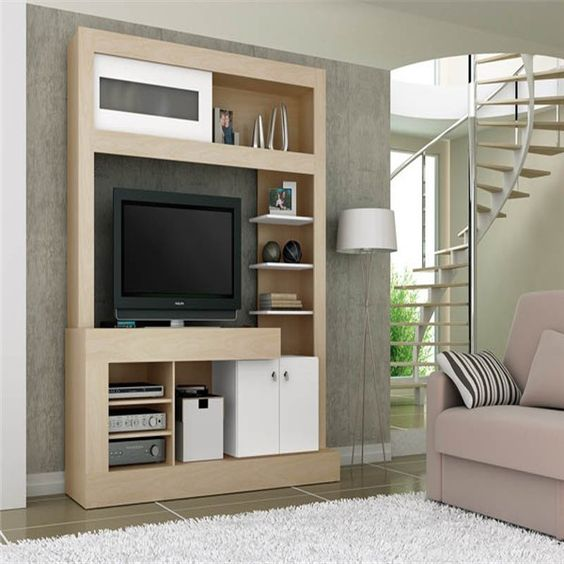 Led tv wall unit tv wall units lcd tv wall unit - Interior design of living room with lcd tv ...