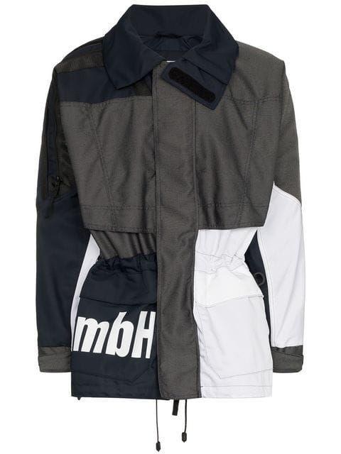 Shop Gmbh X Browns Jeenu Windbreaker Windbreaker Raincoat Jacket Women Wear