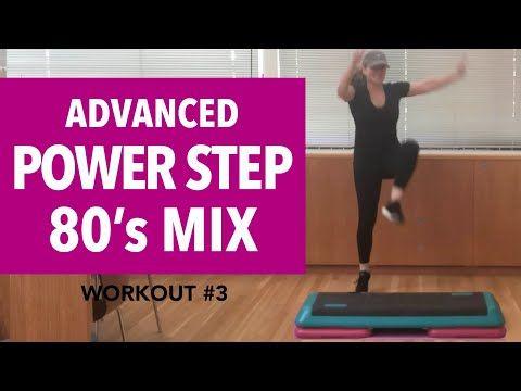 Advanced Power Step Aerobics Awesome 80 S Mix 56 Min 140 144 Bpm Youtube Step Aerobics Aerobics Aerobics Workout